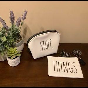 Rae Dunn STUFF & THINGS Cosmetic Bags 💄